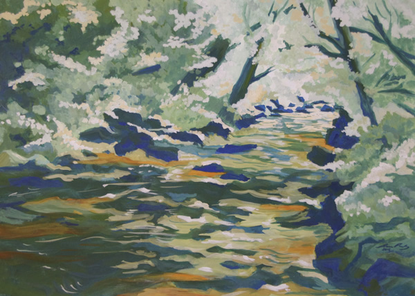 Flusslandschaft II